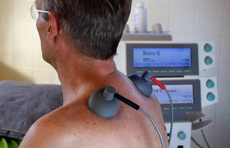 Behandlung des Rückens