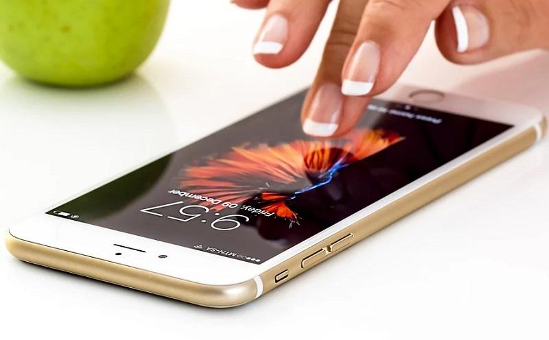 Smartphone gesund