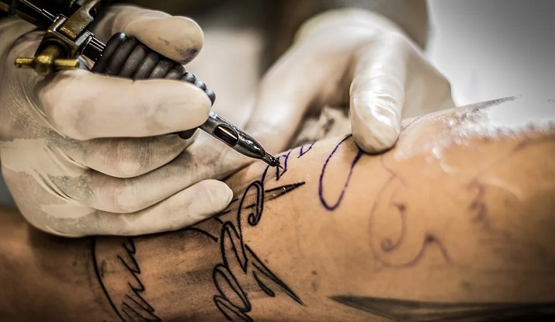Tattoo stechen