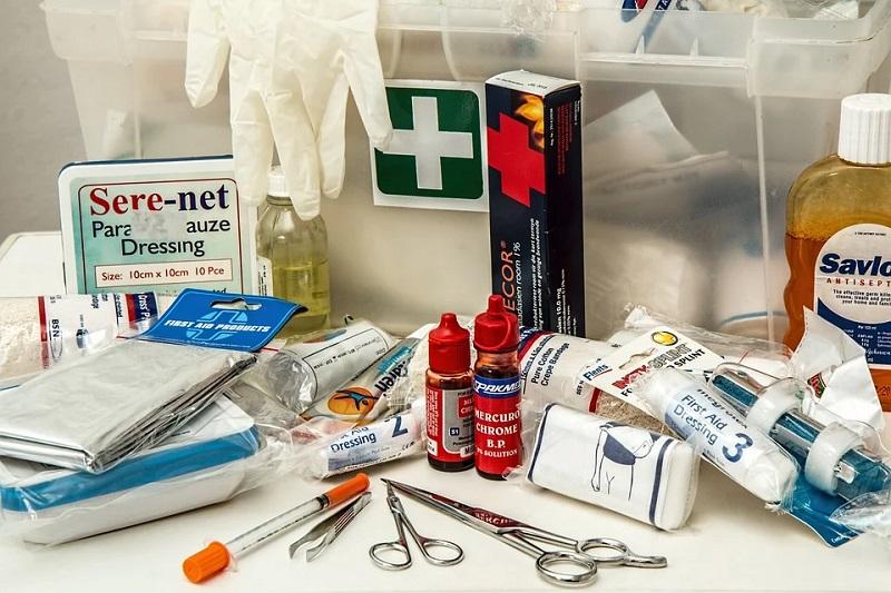 Produkte zur ersten Hilfe